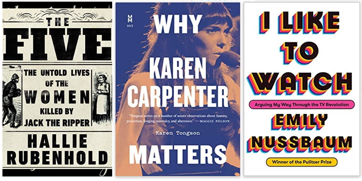 06 Diversity Literature 2019 Hallie Rubenhold, Karen Tongson, Emily Nussbaum