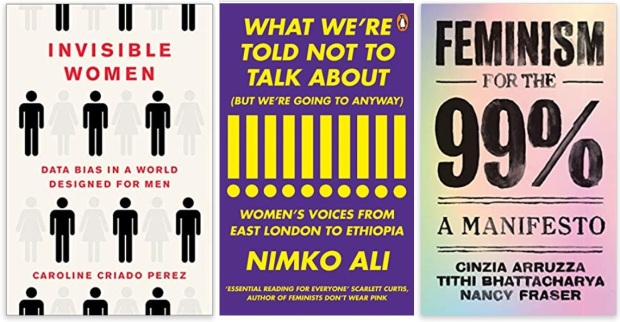 11 Diversity Literature 2019 Caroline Criado Perez, Nimko Ali, Cinzia Arruzza, Thi Bhattacharya, Nancy Fraser