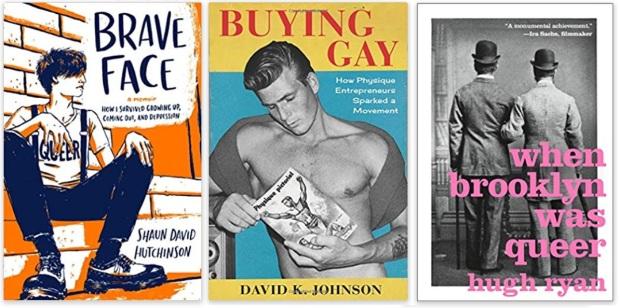 12 Diversity Literature 2019 Shaun David Hutchinson, David K. Johnson, Hugh Ryan