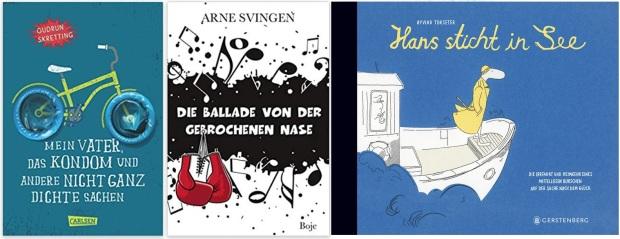 13 Norwegen Gastland Ehrengast Frankfurter Buchmesse 2019 - Kinderbuch Jugendbuch Gudrun Skretting, Arne Svingen, Oyvind Torsetter