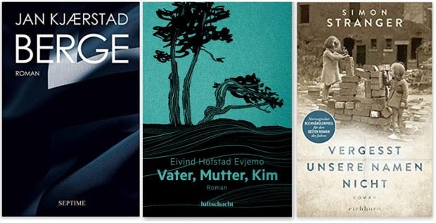 14 Norwegen Gastland Ehrengast Frankfurter Buchmesse 2019 - Jan Kjaerstad, Eivind Hofstad Evjemo, Simon Stranger