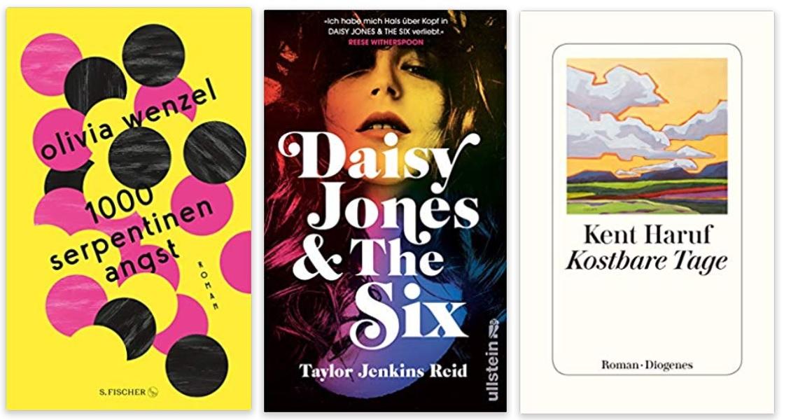01 2020 Bücher des Jahres, Romane des Jahres - Olivia Wenzel, Taylor Jenkins Reid, Kent Haruf