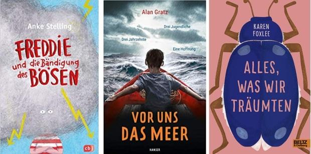 01 2020 Jugendbuch Kinderbuch Young Adult - Anke Stelling, Alan Gratz, Karen Foxlee