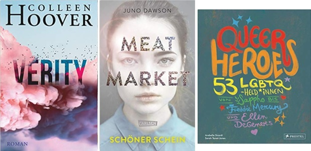 03 2020 Jugendbuch Kinderbuch Young Adult - Colleen Hoover, Juno Dawson, Arabelle Sicardi