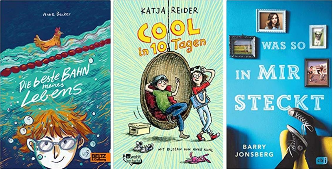 05 2020 Jugendbuch Kinderbuch Young Adult - Anne Becker, Katja Reider, Barry Jonsberg