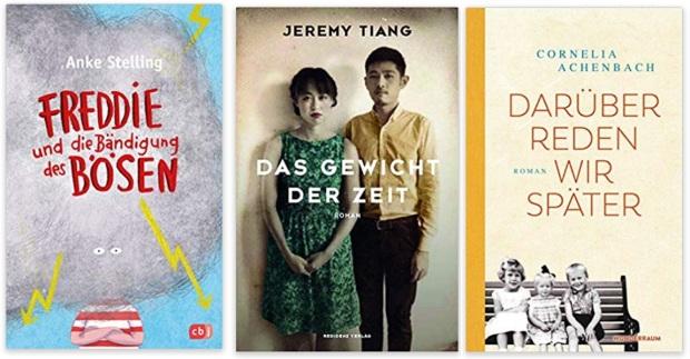 06 2020 Bücher des Jahres, Romane des Jahres - Anke Stelling, Jeremy Tiang, Cornelia Achenbach