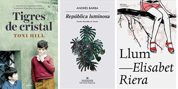 06 Spanien, Ehrengast Gastland Frankfurter Buchmesse 2021 - Spanische Literatur Toni Hill, Andres Barba, Elis Riera