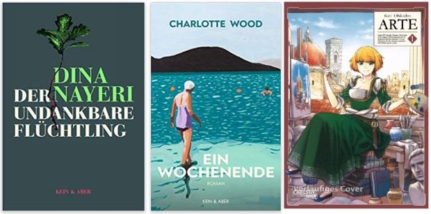 07 2020 Bücher des Jahres, Romane des Jahres - Dina Nayeri, Charlotte Wood, Kei Ohkubo