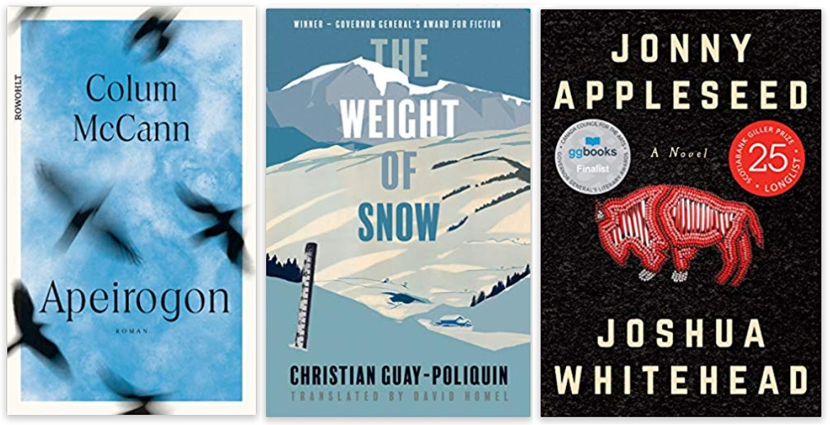09 2020 Bücher des Jahres, Romane des Jahres - Colum McCann, Christian Guay-Poliquin, Joshua Whitehead