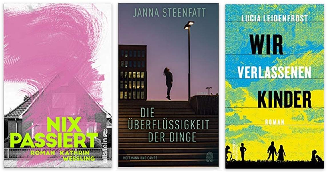 10 2020 Bücher des Jahres, Romane des Jahres - Kathrin Wessling, Janna Steenfatt, Lucia Leidenfrost