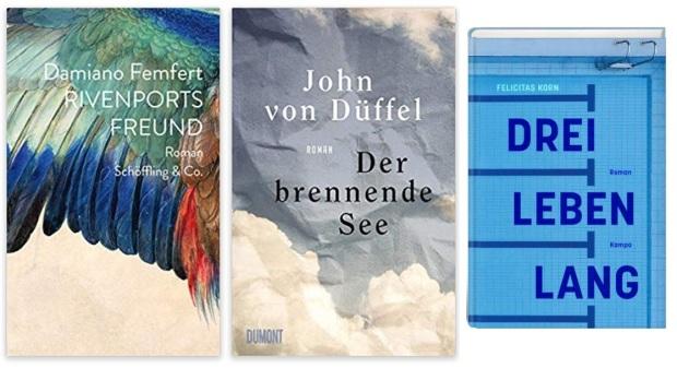 11 2020 Bücher des Jahres, Romane des Jahres - Damiano Femfert, John von Düffel, Felicitas Korn