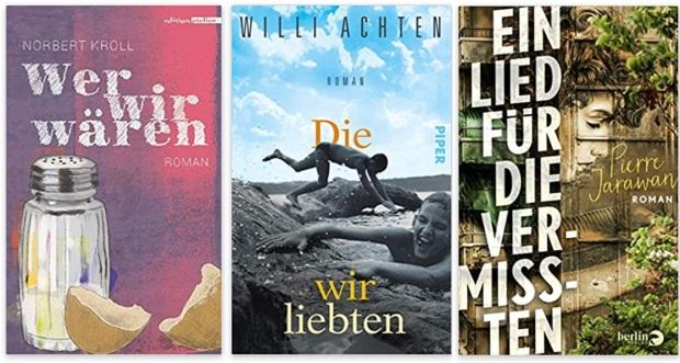 12 2020 Bücher des Jahres, Romane des Jahres - Norbert Kröll, Willi Achten, Pierre Jarawan