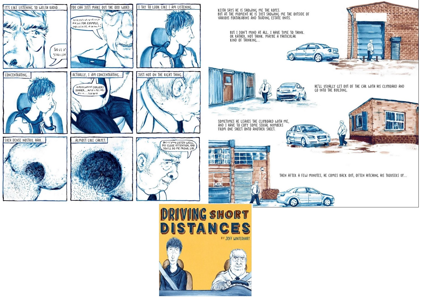 12 b Comics des Jahres - Driving Short Distances