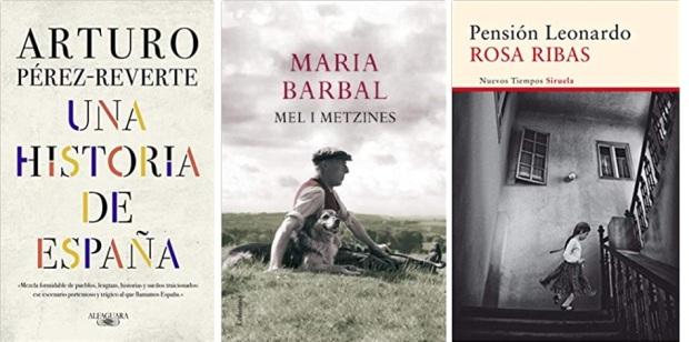 12 Spanien, Ehrengast Gastland Frankfurter Buchmesse 2021 - Arturo Perez-Reverte, Maria Barbal, Rosa Ribas