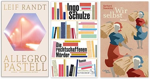 13 2020 Bücher des Jahres, Romane des Jahres - Leif Randt Allegro Pastell, Ingo Schulze, Gerhard Sawatzky