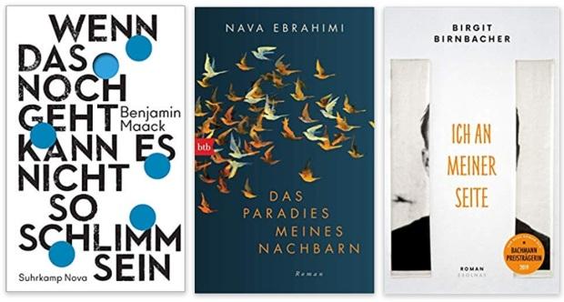 14 2020 Bücher des Jahres, Romane des Jahres - Benjamin Maack, Nava Ebrahimi, Birgit Birnbacher