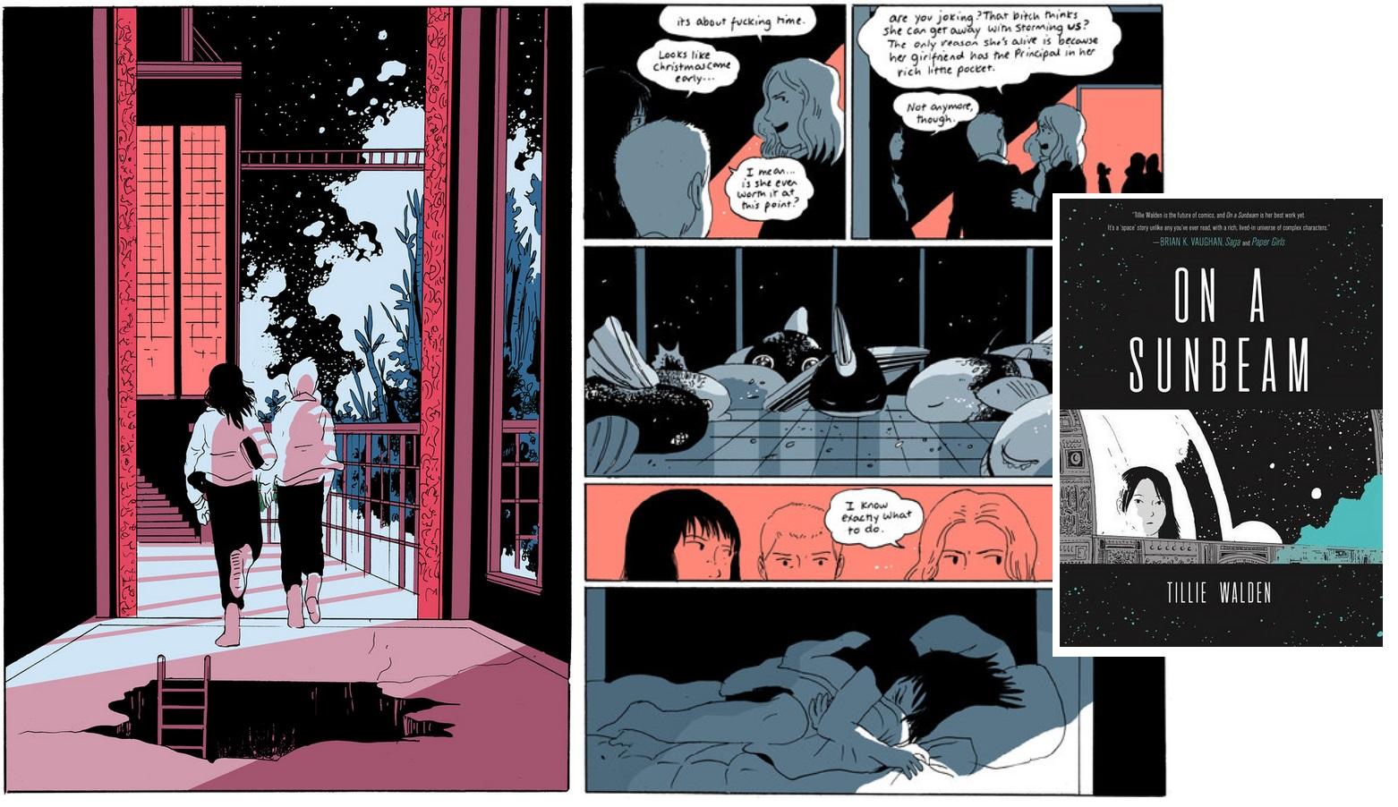 14 b Comics des Jahres - On a Sunbeam