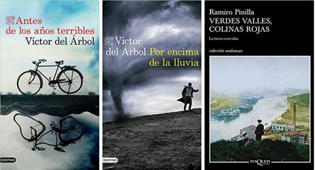 14 Spanien, Ehrengast Gastland Frankfurter Buchmesse 2021 - Victor del Arbol, Ramiro Pinilla