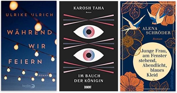 16 2020 Bücher des Jahres, Romane des Jahres - Ulrike Ulrich, Karosh Taha, Alena Schröder
