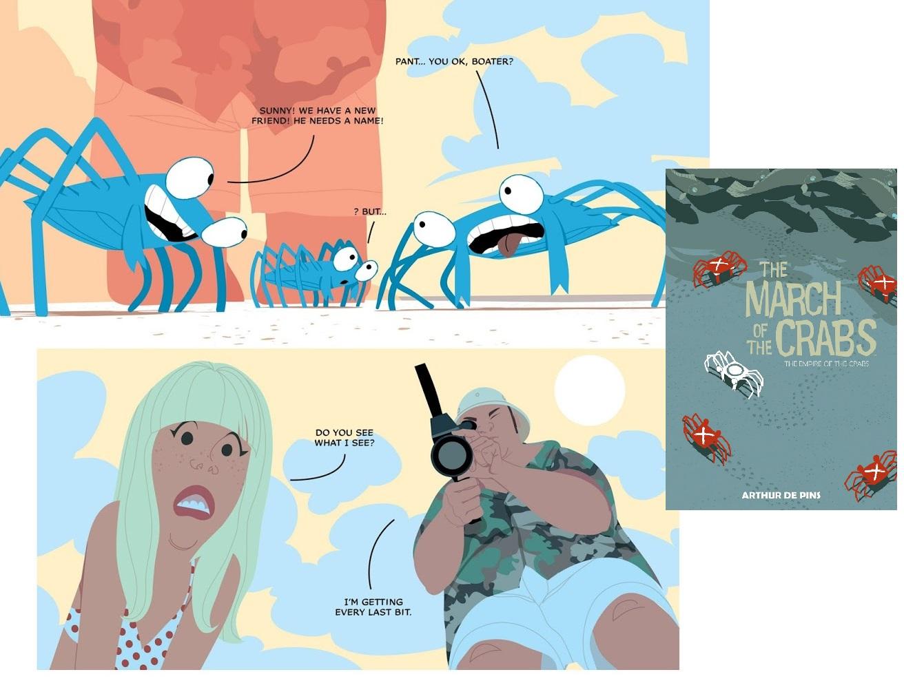 16 b Comics des Jahres - Marsch der Krabben