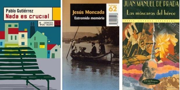 16 Spanien, Ehrengast Gastland Frankfurter Buchmesse 2021 - Pablo Gutierez, Jesus Moncada, Juan Manuel de Prada