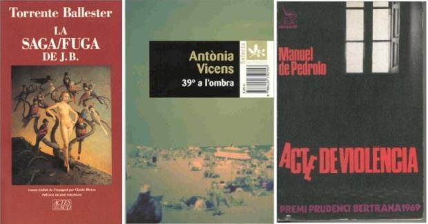 18 Spanien, Ehrengast Gastland Frankfurter Buchmesse 2021 - Torrente Ballester, Antonia Vicens, Manuel de Pedrolo