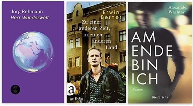 19 2020 Bücher des Jahres, Romane des Jahres - Jörg Rehmann, Erwin Berner, Alexander Wachter