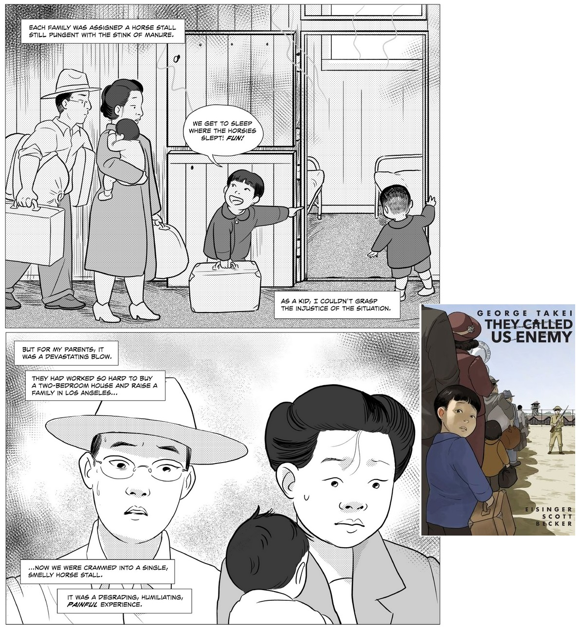 19 b Comics des Jahres - They Called Us Enemy