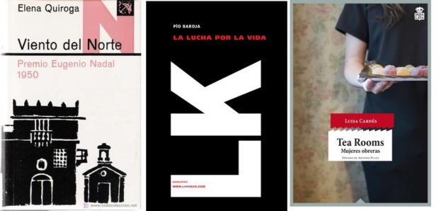 19 Spanien, Ehrengast Gastland Frankfurter Buchmesse 2021 - Elena Quiroga, Pio Baroja, Luisa Carnes