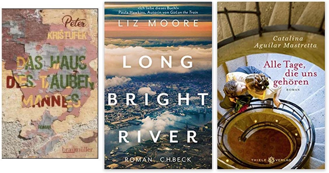 20 2020 Bücher des Jahres, Romane des Jahres - Peter Kristufek, Liz Moore, Catalina Aguilar Mastretta