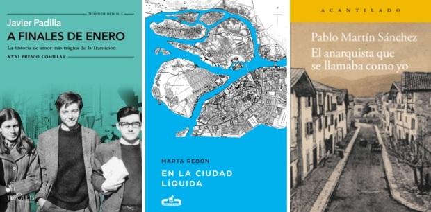 20 Spanien, Ehrengast Gastland Frankfurter Buchmesse 2021 - Javier Padilla, Marta Rebon, Pablo Martin Sanchez