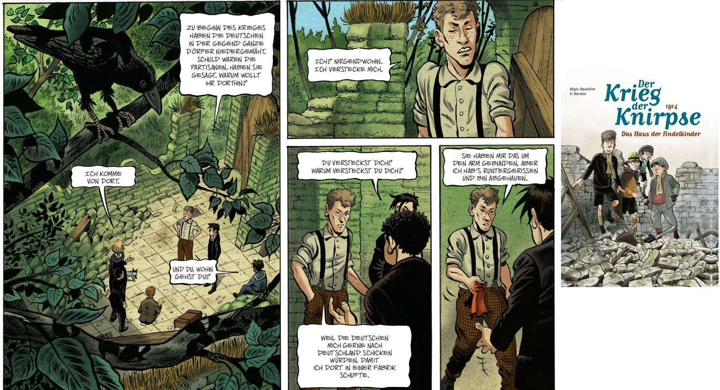 20b Comics des Jahres - Krieg der Knirpse