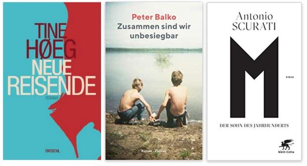 21 2020 Bücher des Jahres, Romane des Jahres - Tine Hoeg, Peter Balko, Antonio Scurati