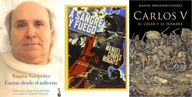 21 Spanien, Ehrengast Gastland Frankfurter Buchmesse 2021 - Ramon Sampedro, Manuel Chaves Nogales, Manuel Fernandez Alvarez
