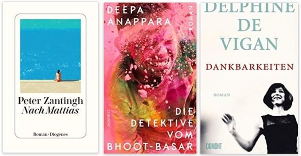 22 2020 Bücher des Jahres, Romane des Jahres - Peter Zantigh, Deepa Anappara, Delphine de Vigan