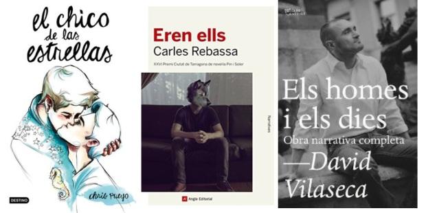 23 Spanien, Ehrengast Gastland Frankfurter Buchmesse 2021 - schwule Literatur Chris Peuyo, Carles Rebassa, David Vilaseca