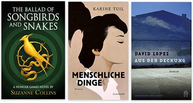 26 2020 Bücher des Jahres, Romane des Jahres - Suzanne Collins, Karine Tuil, David Lopez