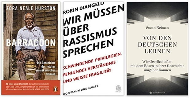 29 2020 Bücher des Jahres, Sachbücher des Jahres - Zora Neale Hurston, Robin Diangelo, Susan Neiman