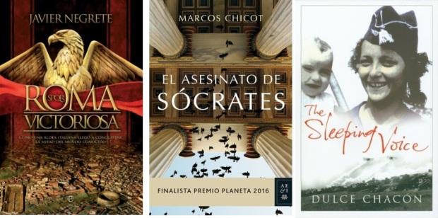 29 Spanien, Ehrengast Gastland Frankfurter Buchmesse 2021 - Javier Negrete, Marcos Chicot, Dulce Chacon