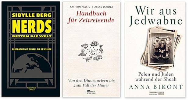 33 2020 Bücher des Jahres, Sachbücher des Jahres - Sibylle Berg, Kathrin Passig und Aleks Scholz, Anna Bikont