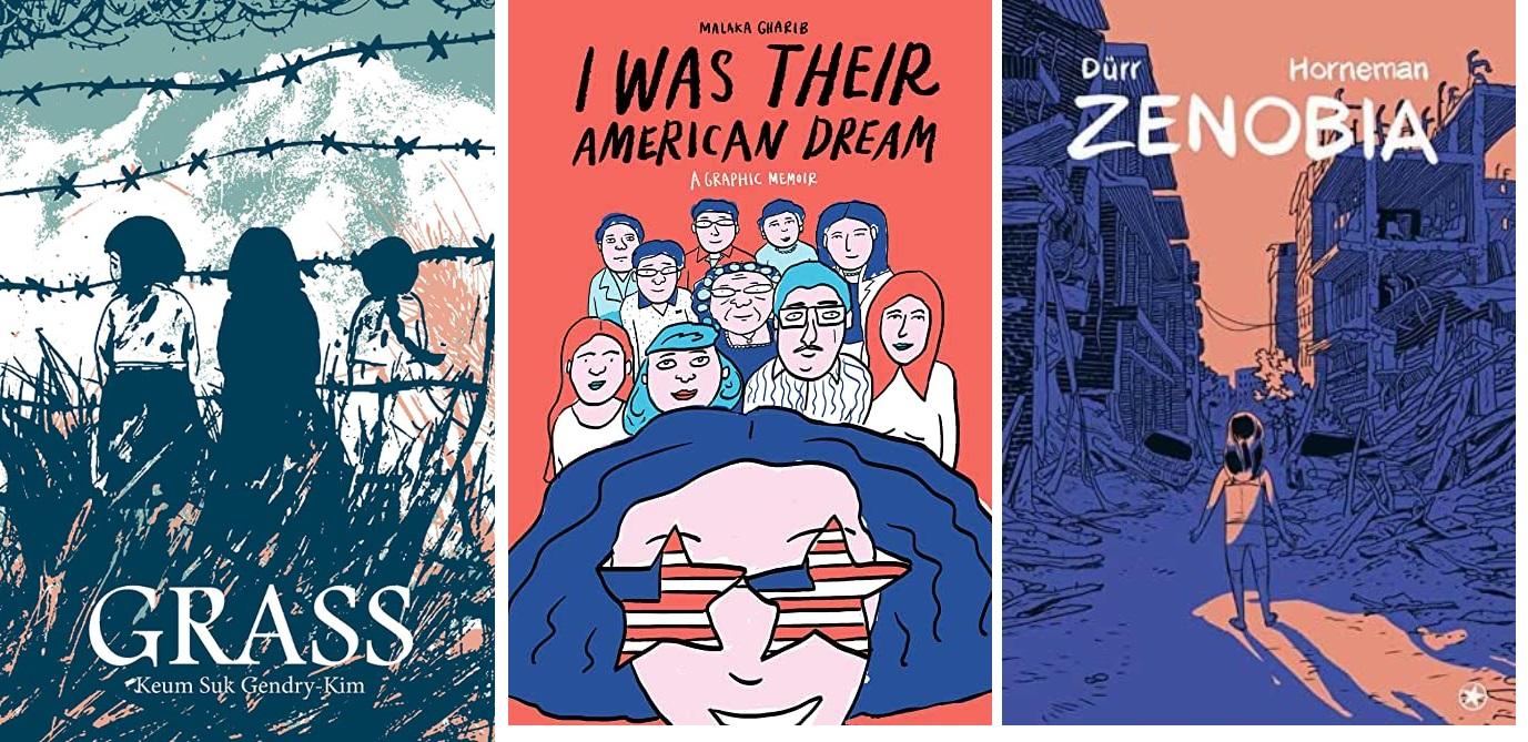 33 2020 Jugendbuch Kinderbuch Young Adult - Keum Suk Gendry-Kim, Malaka Gharib, Dürr Horneman