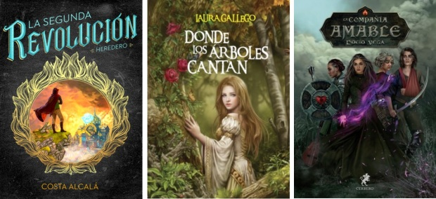 36 Spanien, Ehrengast Gastland Frankfurter Buchmesse 2021 - Costa Alcala, Laura Gallego, Rocio Vega