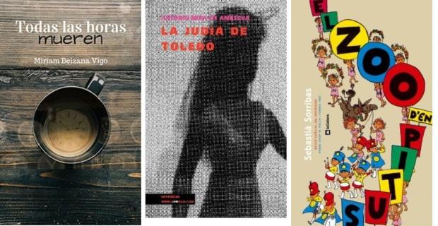 37 Spanien, Ehrengast Gastland Frankfurter Buchmesse 2021 - Miriam Beizana Vigo, Antonio Mira de Amescua, Sebastia Sorribas