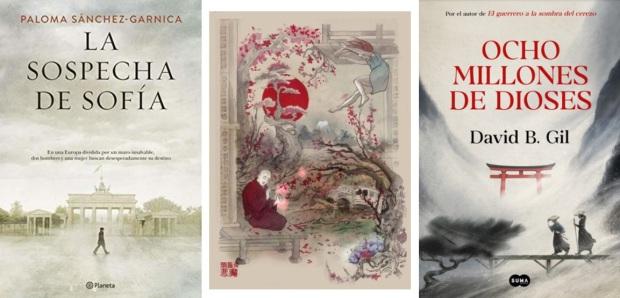 39 Spanien, Ehrengast Gastland Frankfurter Buchmesse 2021 - Paloma Sanchez-Garnica, Maria Antonia Marti Escayol, David B. Gil