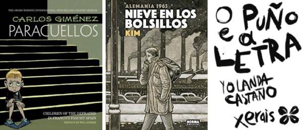 43 Spanien, Ehrengast Gastland Frankfurter Buchmesse 2021 - Comics Carlos Gimenez, Kim, Yolanda Castano