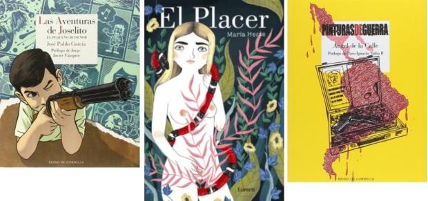 44 Spanien, Ehrengast Gastland Frankfurter Buchmesse 2021 - Comics Jose Pablo Garcia, Maria Hesse, Angel de la Calle