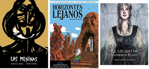 46 Spanien, Ehrengast Gastland Frankfurter Buchmesse 2021 - Comics Santiago Garcia, Santiago Valenzuela, Esther Gili