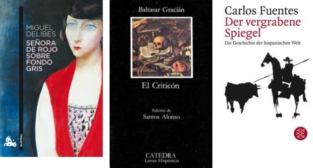 49 Spanien, Ehrengast Gastland Frankfurter Buchmesse 2021 - Miguel Delibes, Baltasar Gracian, Carlos Fuentes