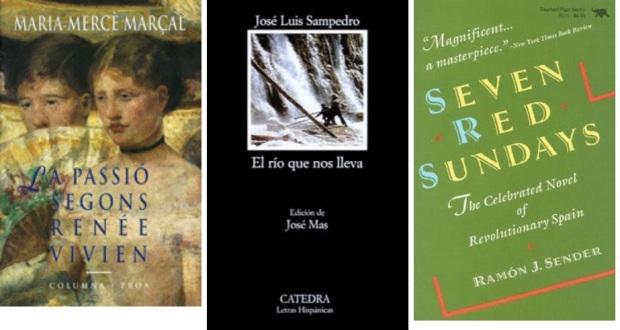 50 Spanien, Ehrengast Gastland Frankfurter Buchmesse 2021 - Maria-Merce Marcal, Jose Luis Sampedro, Ramon Sender.jpg