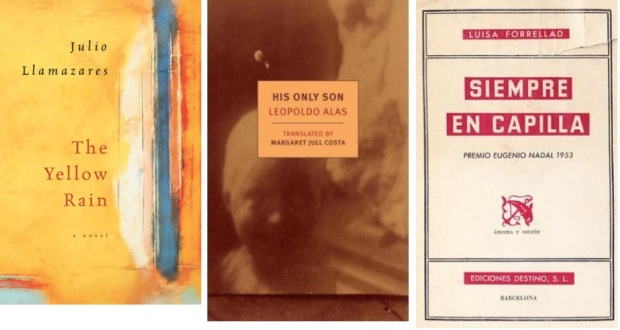 51 Spanien, Ehrengast Gastland Frankfurter Buchmesse 2021 - Julio Llamazares, Leopoldo Alas, Luisa Forrellad.jpg
